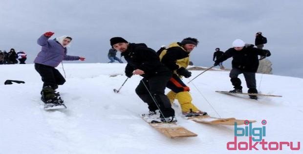 kayak kar spor snowboard
